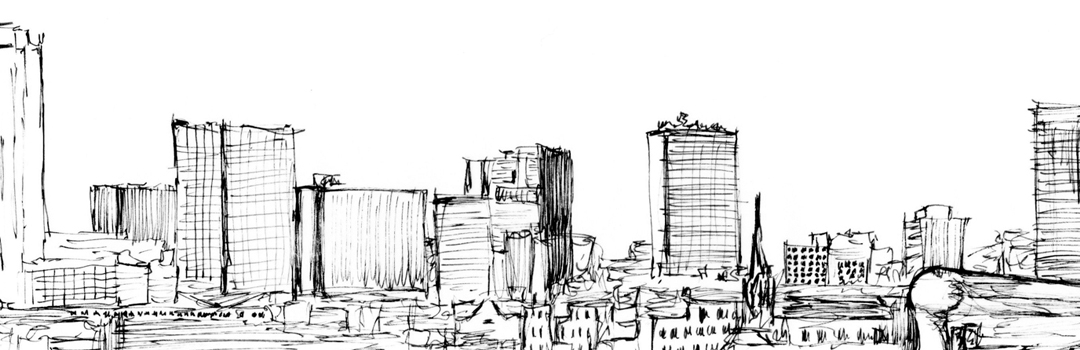 city skyline sketches - photo #25